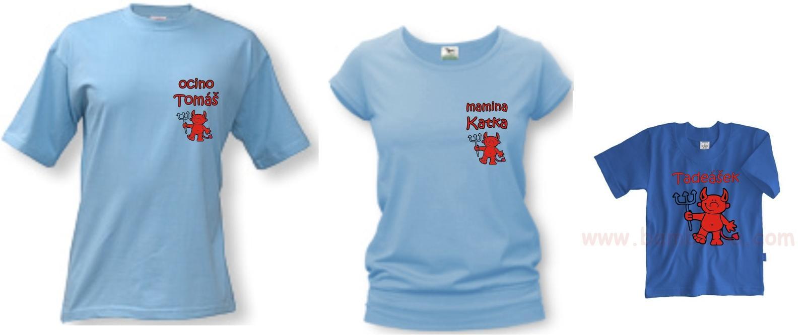 Pripravený a nachystaný - spoločné tričká... všetci rovnaký... :D