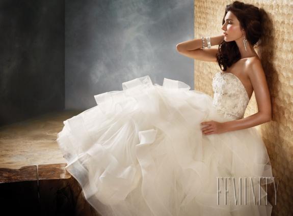 Svadobné šaty, čo sa mi páčia :) - Obrázok č. 2
