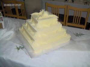 Svadobná torta od svokrovcov