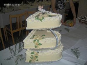 Svadobná torta od našich