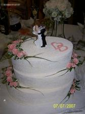 Svadobná torta od krstných