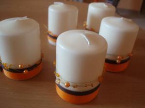 Svíčka na stůl - také od ppeppe