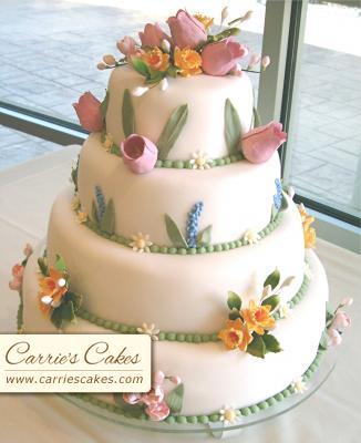 Predbezne fotecky - Jarna svadobna torta 2