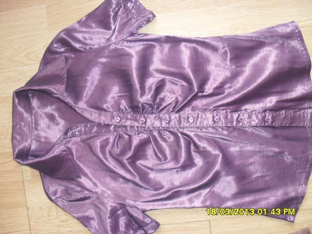 fialová blúzka M - Obrázok č. 1