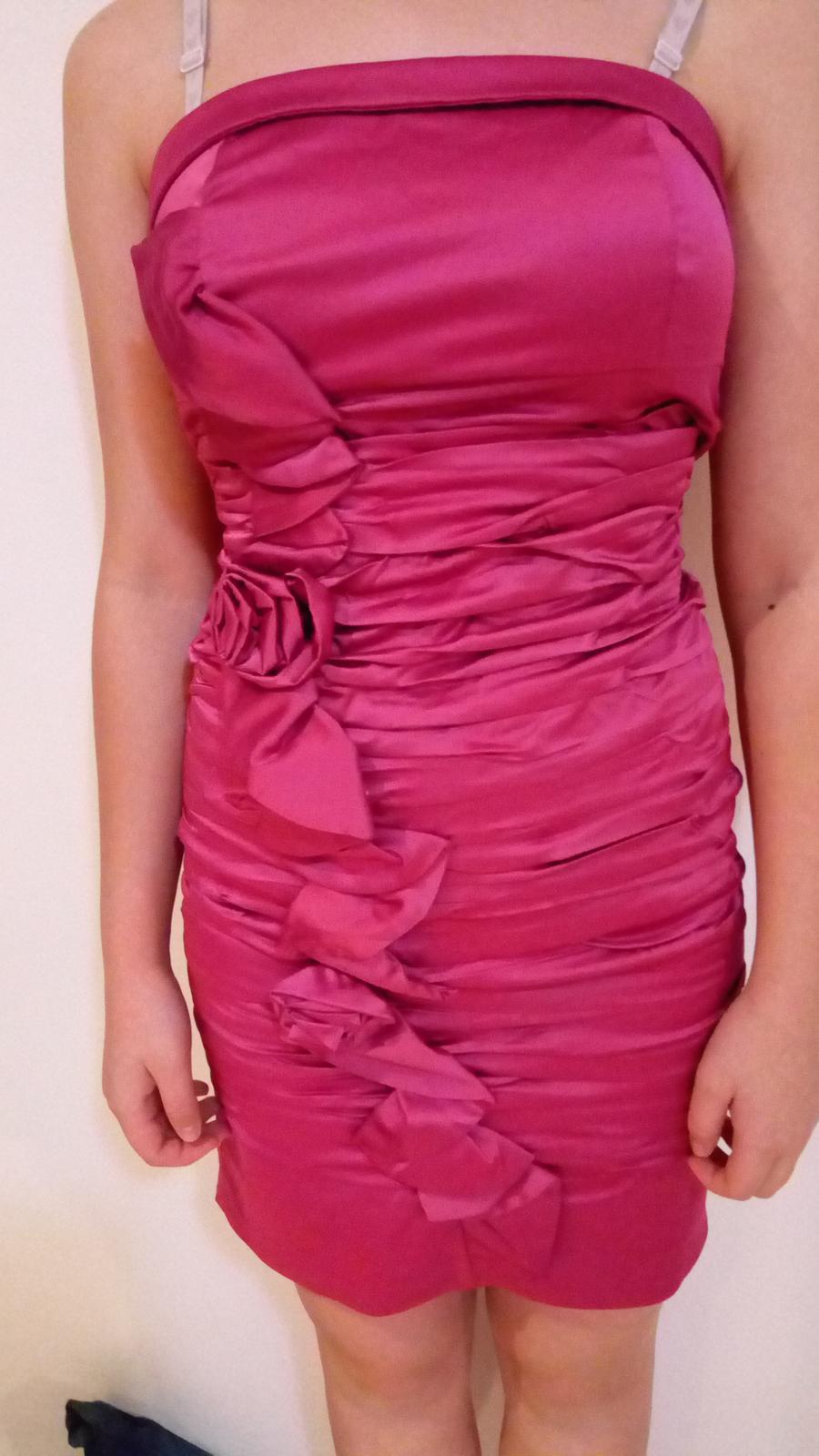spoločenské šaty XS - Obrázok č. 1