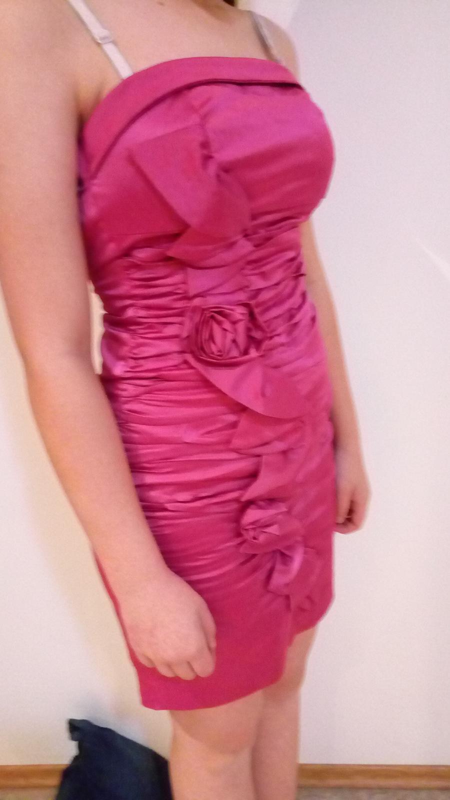 spoločenské šaty XS - Obrázok č. 2