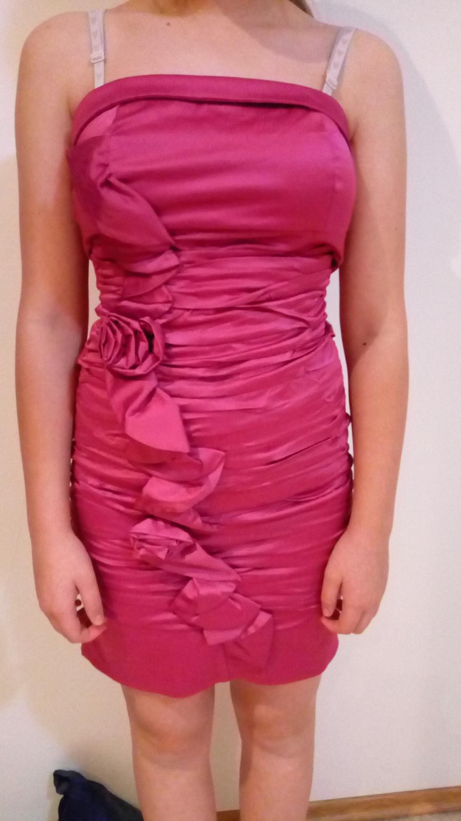 spoločenské šaty XS - Obrázok č. 3