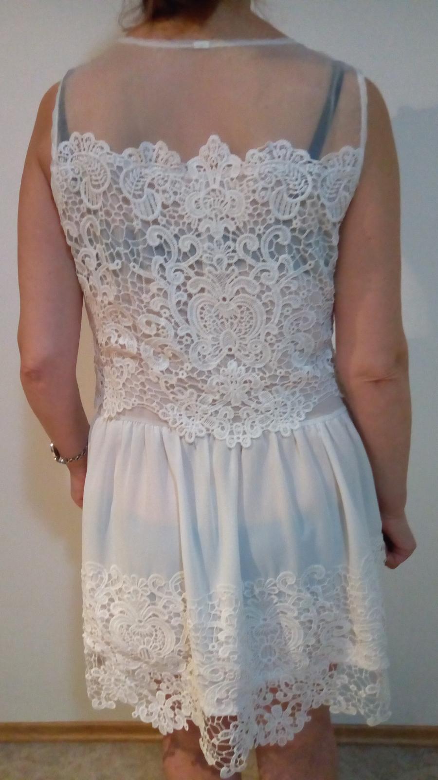 biele šaty M - Obrázok č. 3