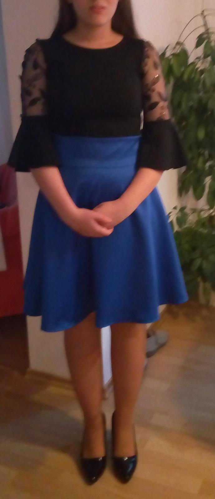 modrá sukňa M - Obrázok č. 1