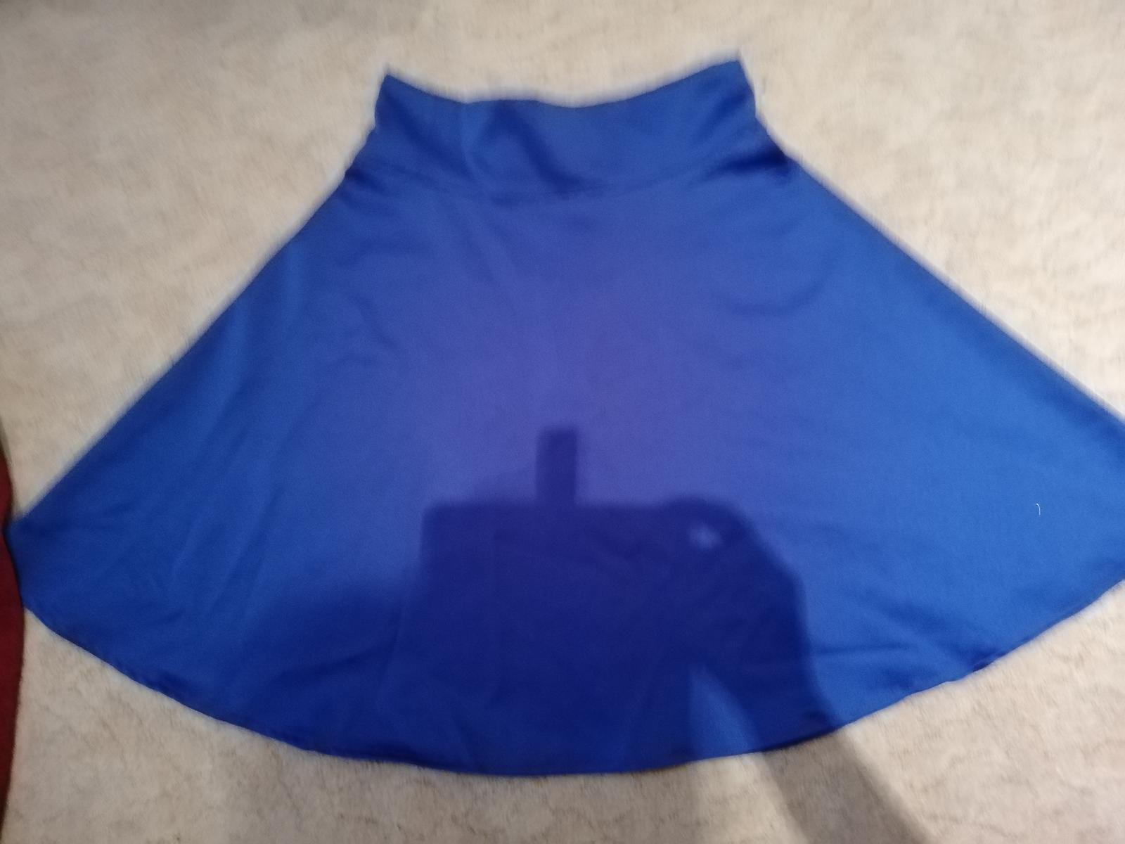 modrá sukňa M - Obrázok č. 2