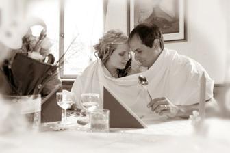 na první pohled jsem se do téhle fotky zamilovala...a to ani nevíme,že nás takhle zastihl fotograf
