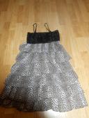 Leopardie šaty s flitrami, S
