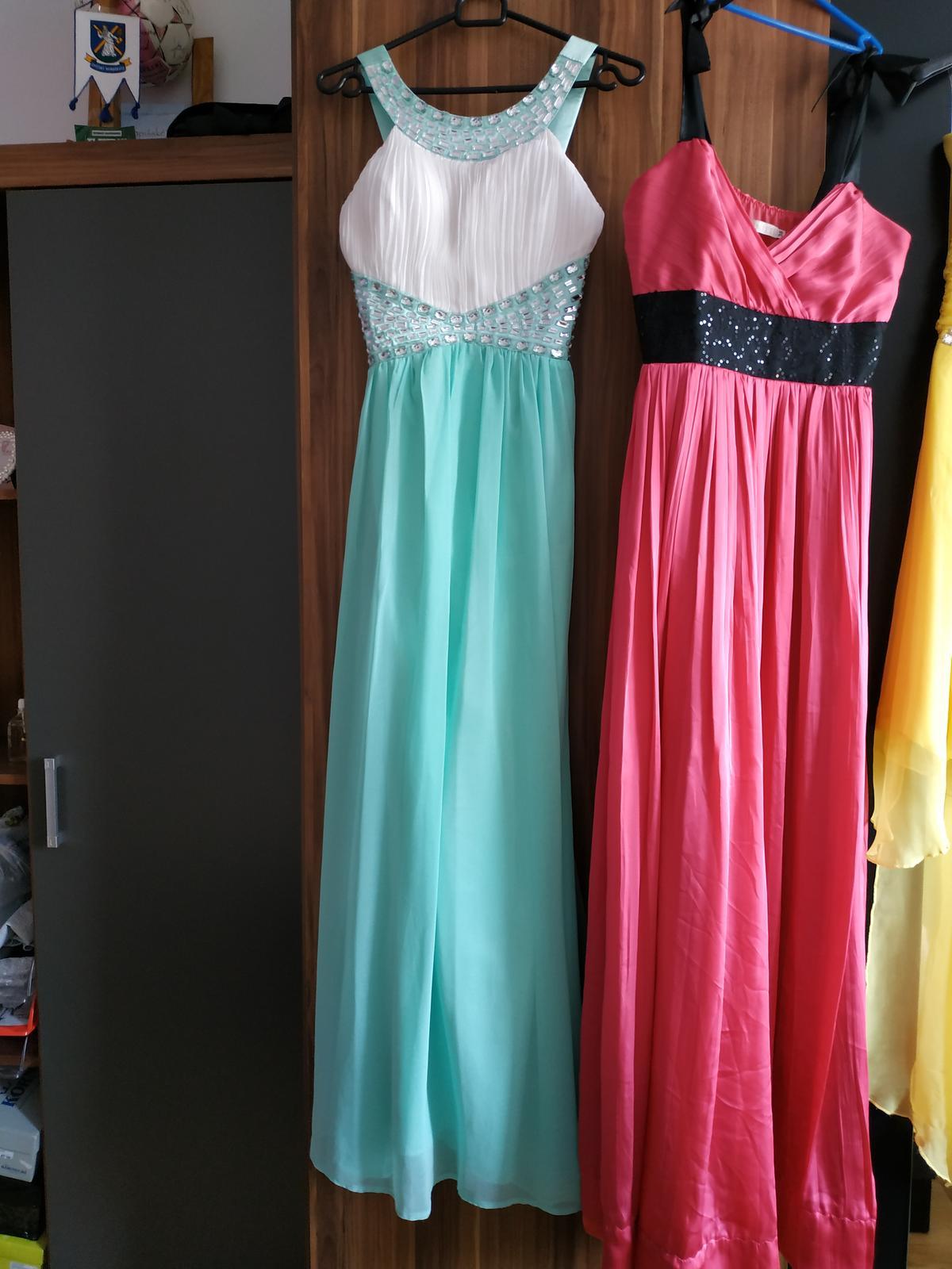 Mentolové šaty - S/M - Obrázok č. 1