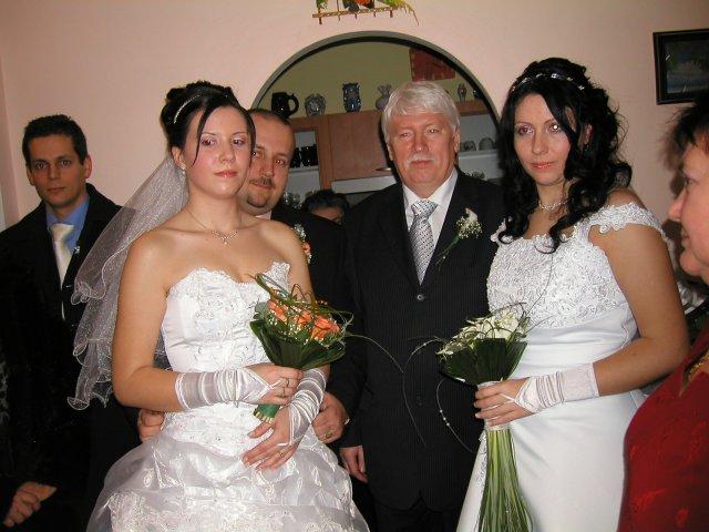 Iveta & Vladino{{_AND_}}Janka & Karel - komplet mladomanželia