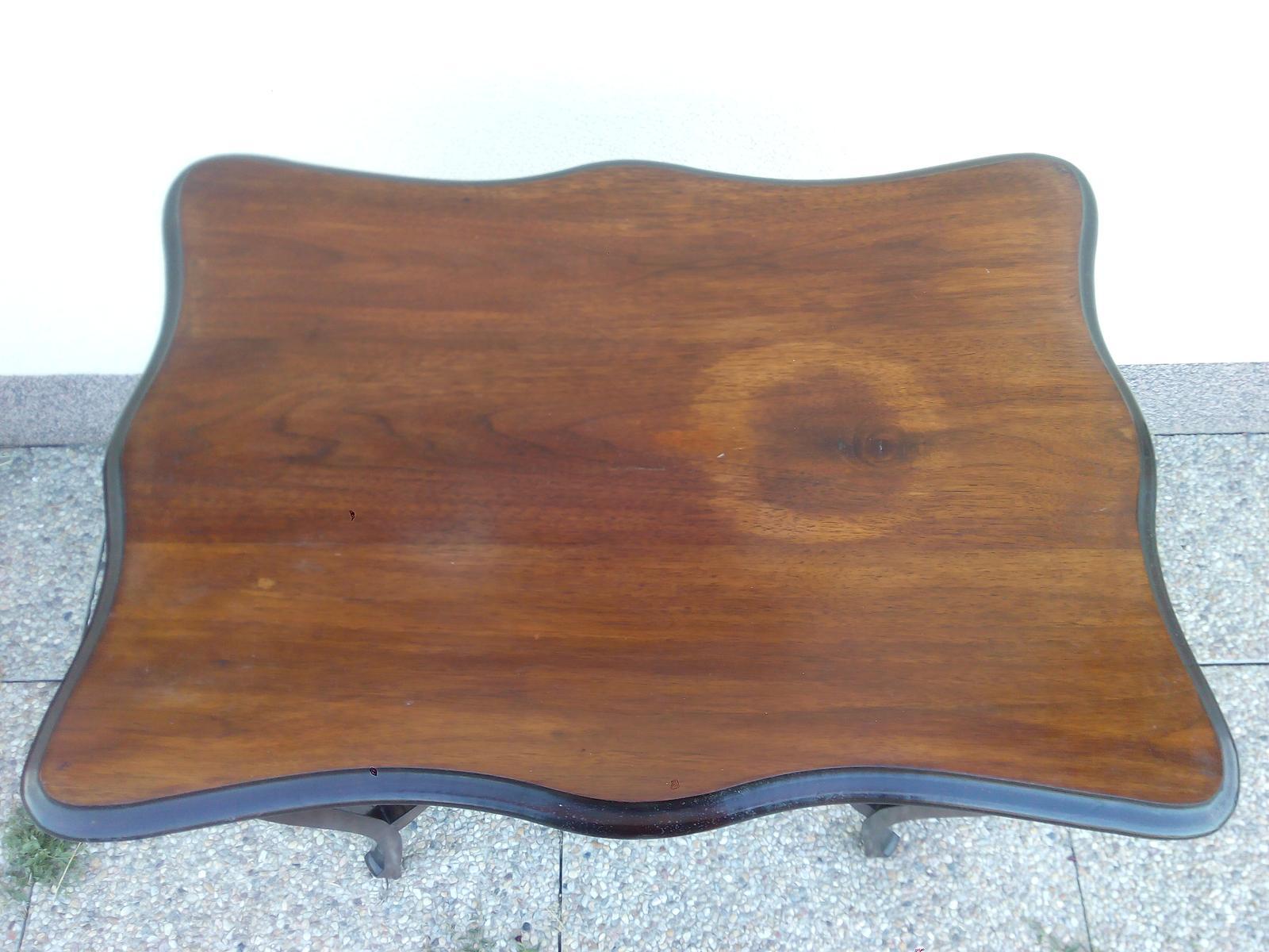 Obřadní stolek vintage, starožitný - Obrázek č. 2