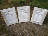 Popisky - svatební kniha, vzkaz v láhvi, klíčky,