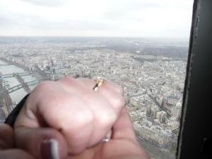 14.února na vrcholu Eiffelovky:-)