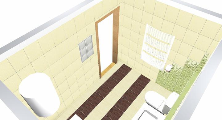 Koupelna Bambo - návrh - Obrázek č. 1
