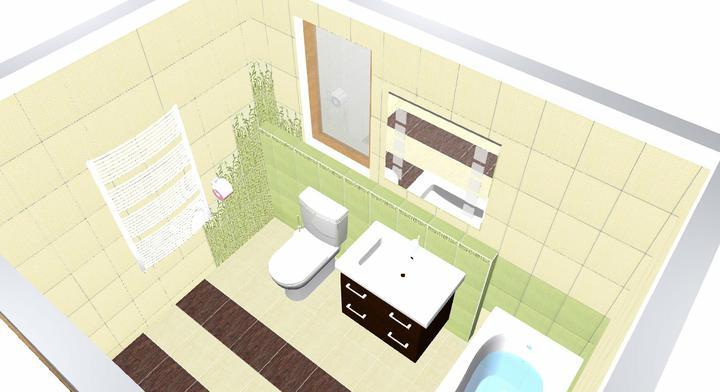 Koupelna Bambo - návrh - Obrázek č. 2