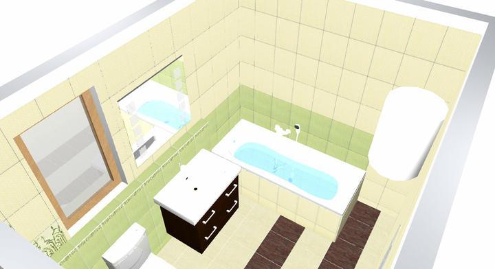 Koupelna Bambo - návrh - Obrázek č. 3