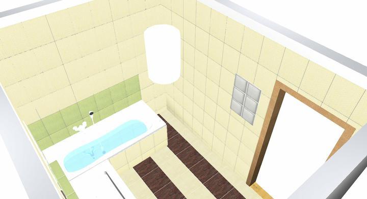 Koupelna Bambo - návrh - Obrázek č. 4
