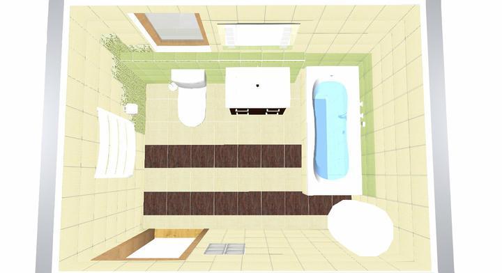 Koupelna Bambo - návrh - Obrázek č. 5