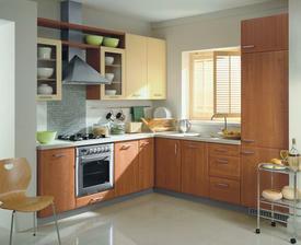 Kuchyne Traffic Vanilka + olše- nabytek Jamall