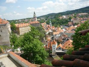 Český Krumlov - krásná vyhlídka