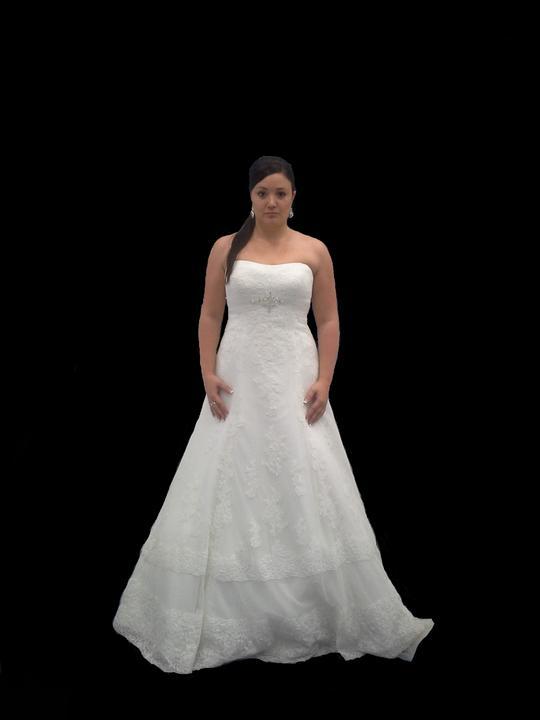 Švatební šaty - změna váhy = změna šatů - Obrázek č. 12