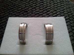 Snubní prsteny dle našeho návrhu :-)