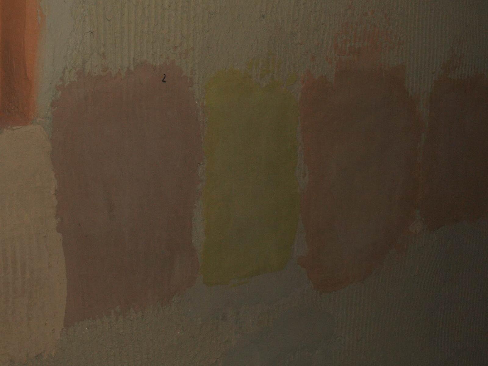 Hlinené omietky a podlahy svojpomocne. - Vzorky farebného ílu a ílu prifarbeného prírodnými prísadami.