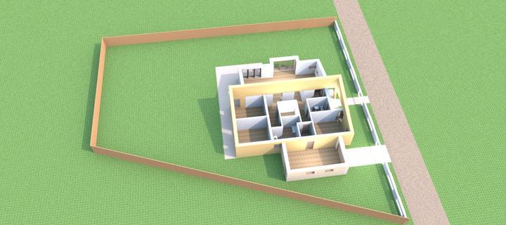 Bungalov s pultovymi strechami - Obrázok č. 7
