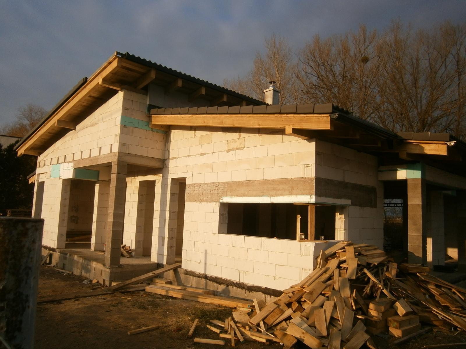 Bungalov s pultovymi strechami - Obrázok č. 35