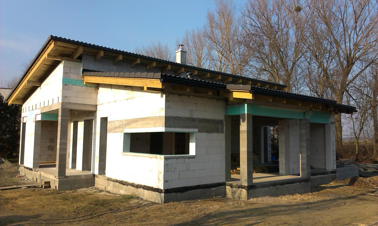 Bungalov s pultovymi strechami - Obrázok č. 38