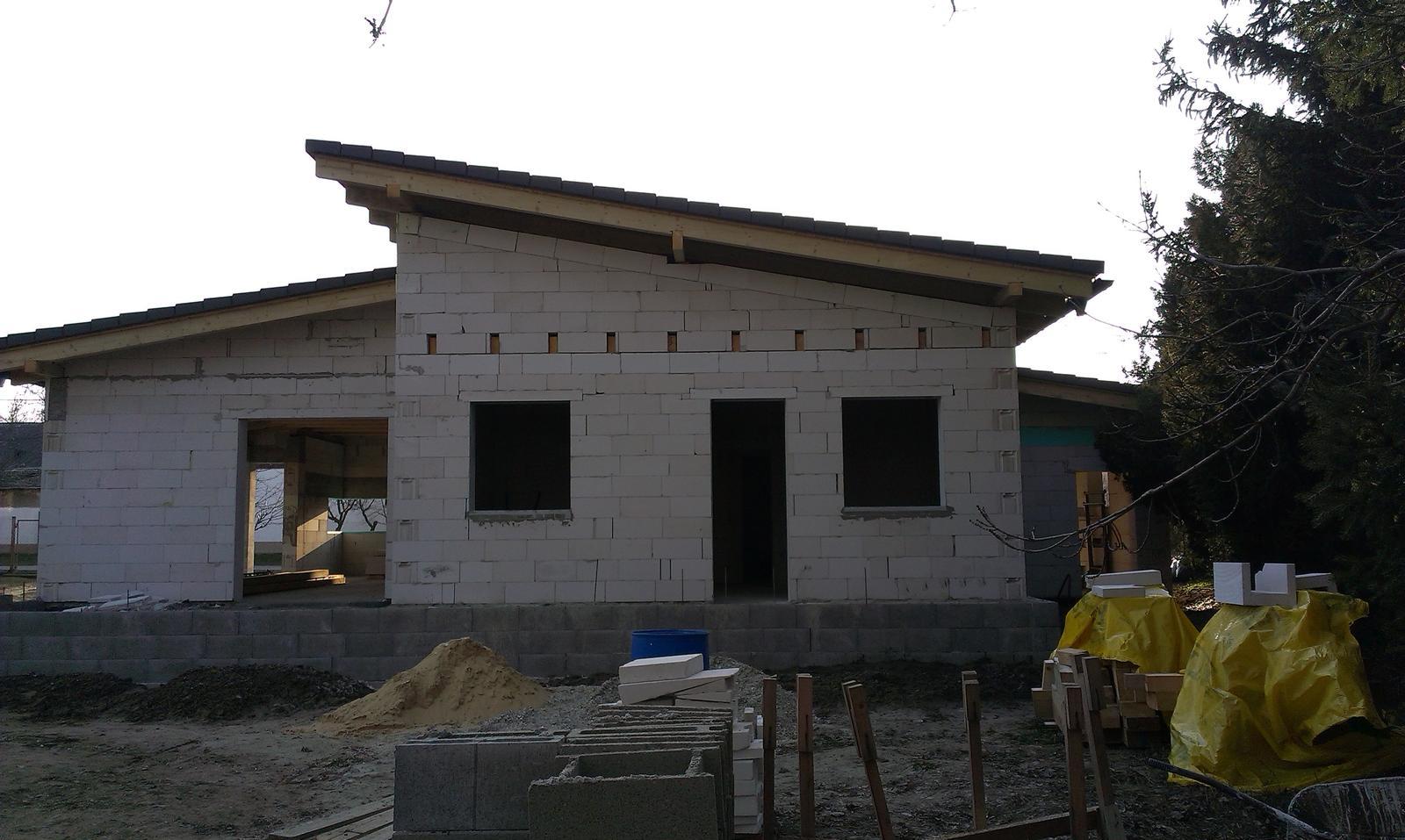 Bungalov s pultovymi strechami - Obrázok č. 43