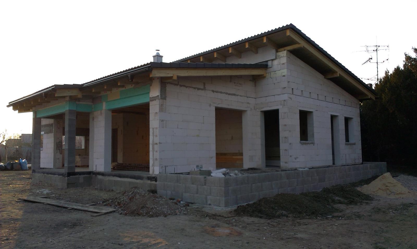 Bungalov s pultovymi strechami - Obrázok č. 40