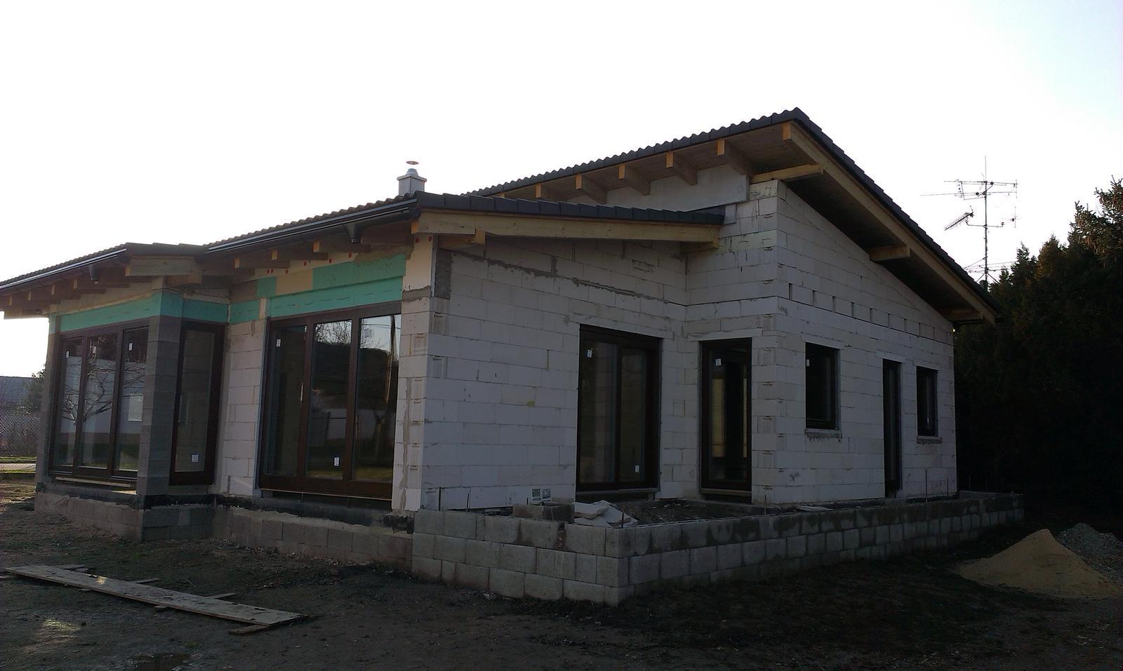 Bungalov s pultovymi strechami - Obrázok č. 49