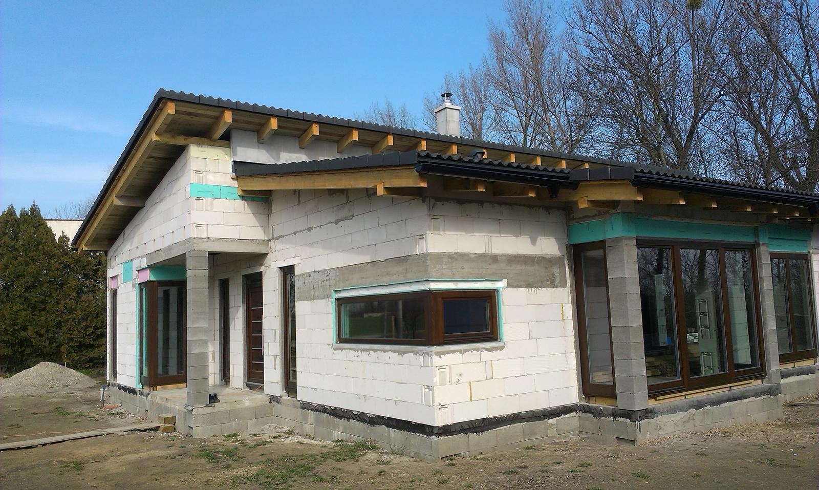 Bungalov s pultovymi strechami - Obrázok č. 51
