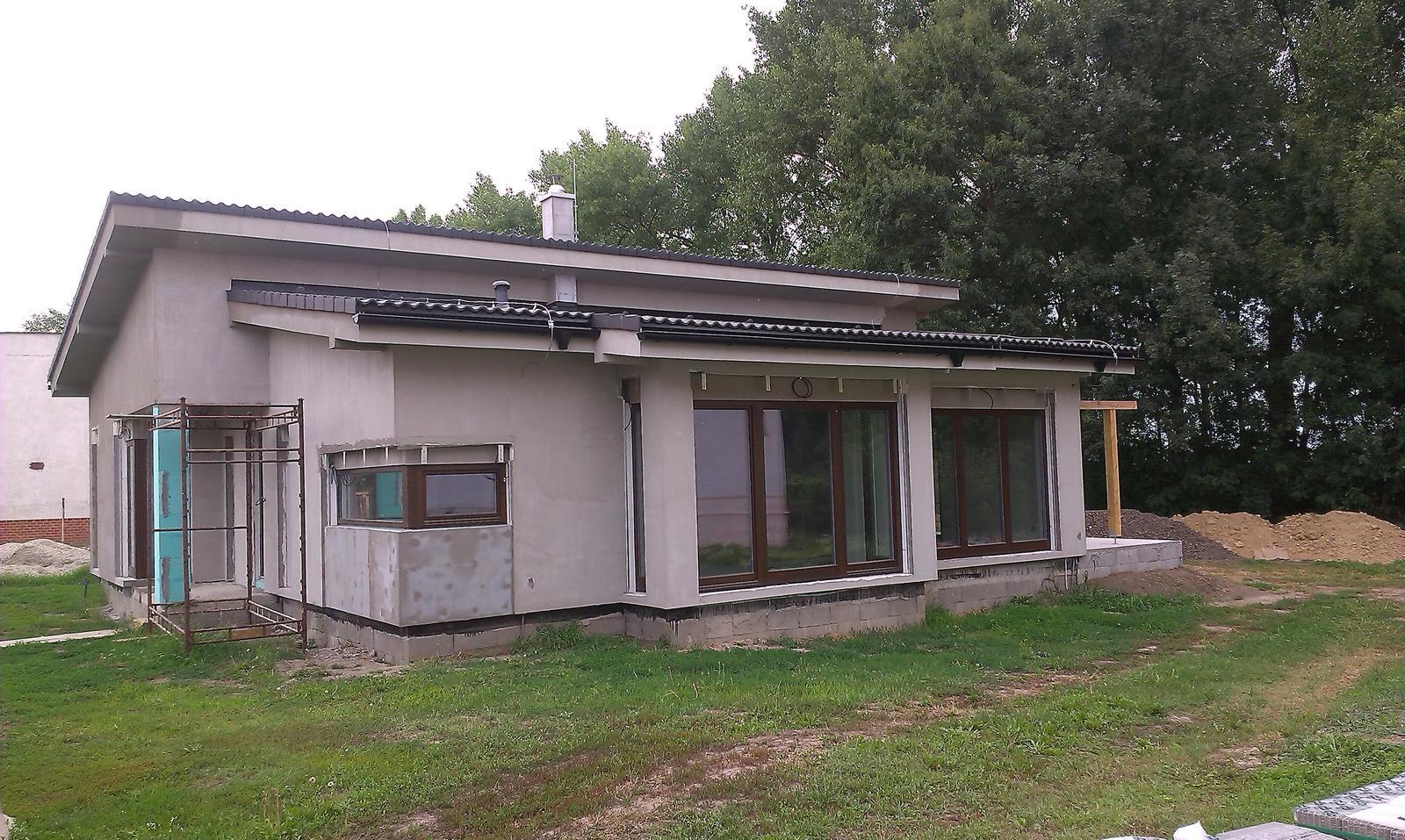 Bungalov s pultovymi strechami - Obrázok č. 67