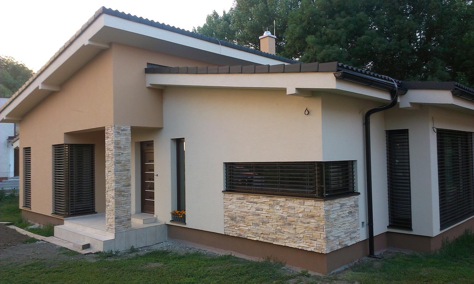 Bungalov s pultovymi strechami - Obrázok č. 99
