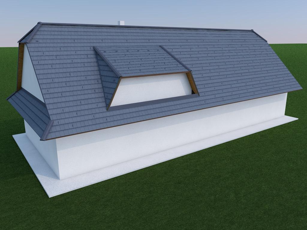 Výzva roku 2020  - střecha 450 m² SVÉPOMOCÍ - Obrázek č. 2