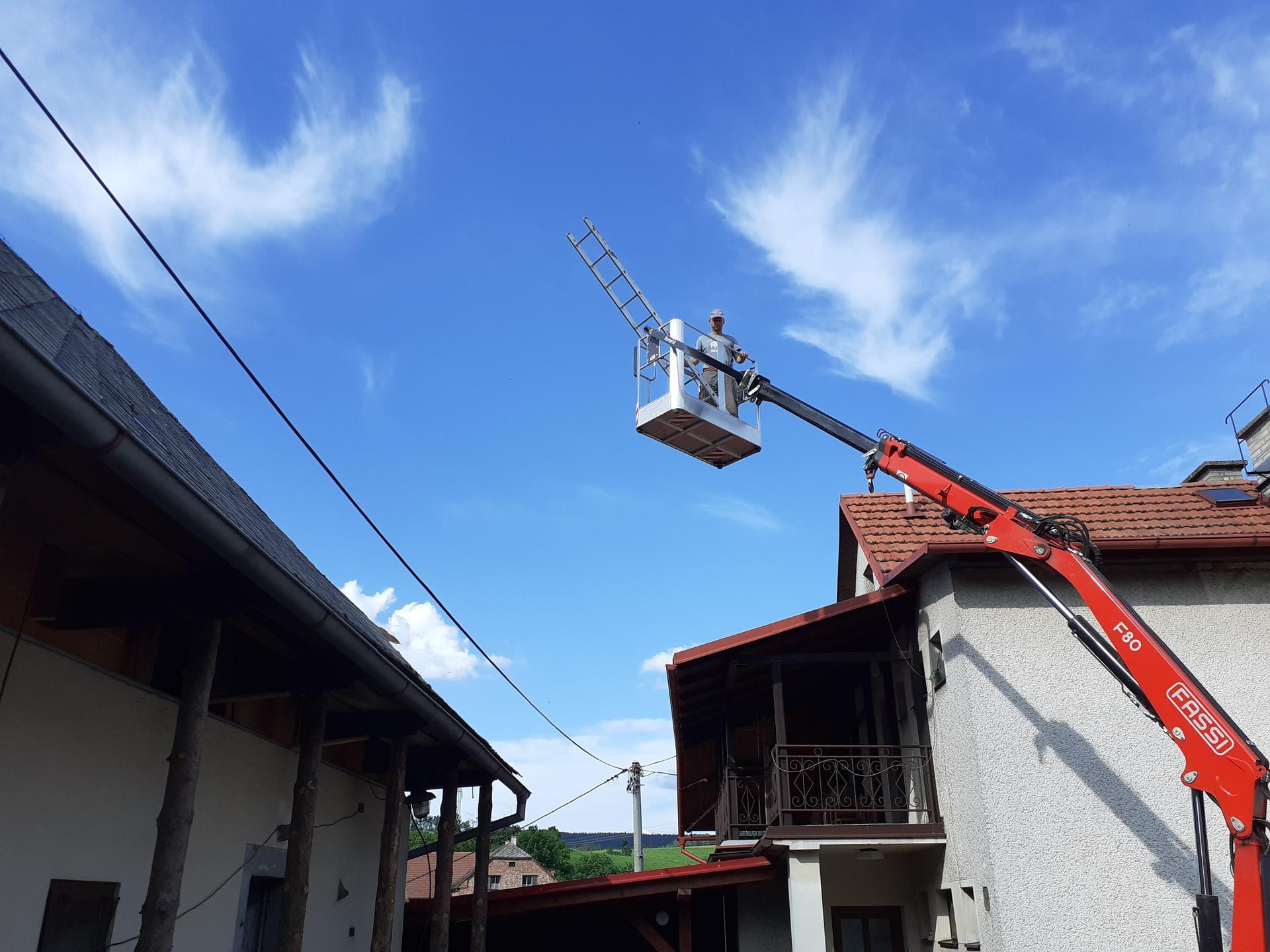 Výzva roku 2020  - střecha 450 m² SVÉPOMOCÍ - Obrázek č. 9
