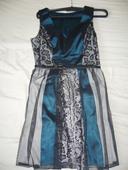 Spoločenské šaty čipkované, 38