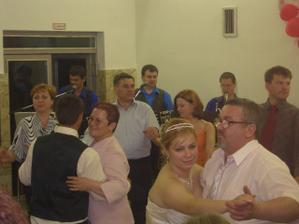 Tu tancujeme s mojimi rodičmi