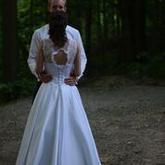 Katka zadní díl šatů