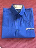 Pánska SLIM košeľa športovo elegantná, L