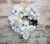 Romanticky veniec v bielom ,