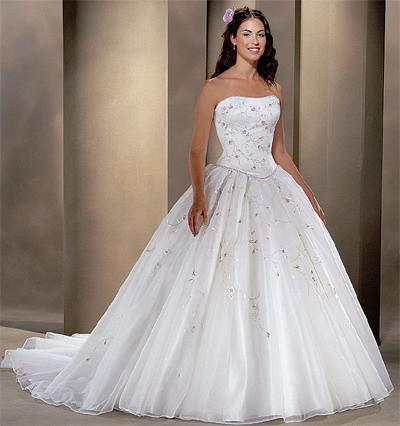 Svadobné šaty, čo sa mi páčia :) - Obrázok č. 6