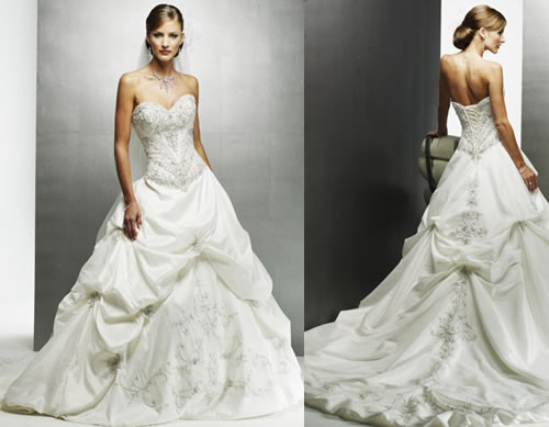 Svadobné šaty, čo sa mi páčia :) - Obrázok č. 7