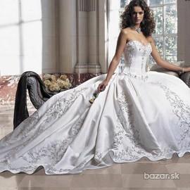 Svadobné šaty, čo sa mi páčia :) - Obrázok č. 12